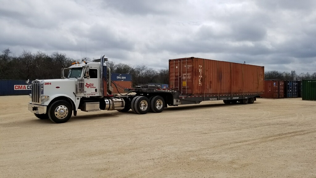 Shipping Storage Containers : Texas Auto Carriers